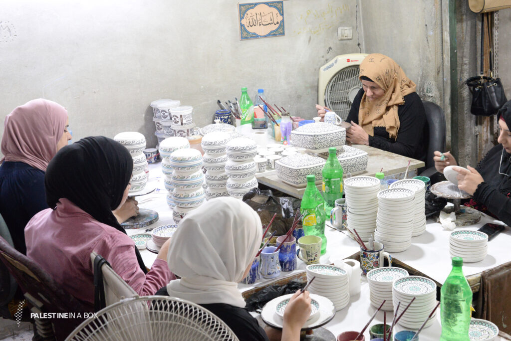 Of course, this skill is not specific to men only. Today, many women have undertaken this craft in workshops.