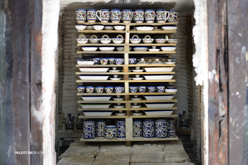 Once the pieces are glazed, they are returned to the kiln. The final products are what we see in markets today.